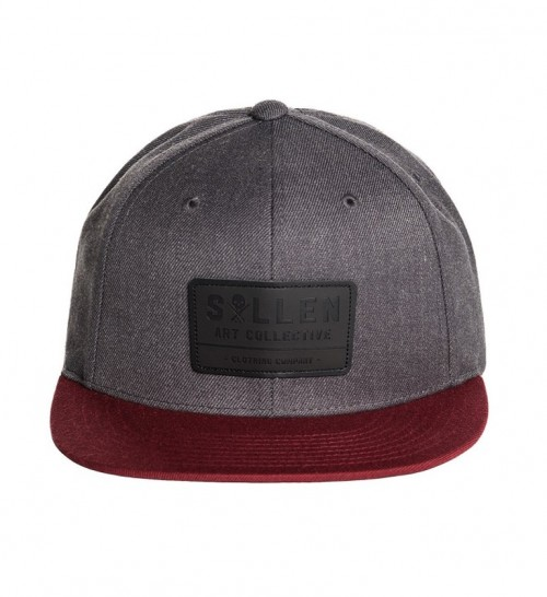 BUIDER SNAPBACK HAT CHARCOAL
