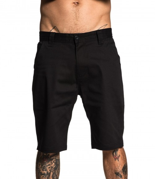 DIRECT SHORTS BLACK