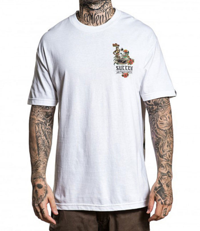 ALL WRONG S/S TEE WHITE